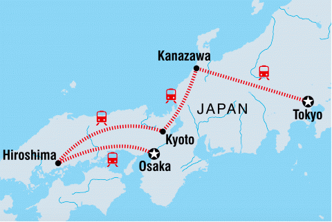 Join BYOkids travel guru Jacinta on a highlights of  Japan tour in 2020