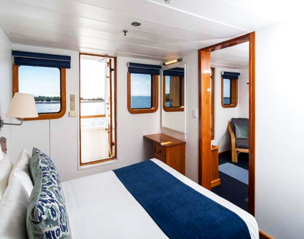 cabins onboard captain cook cruise fiji