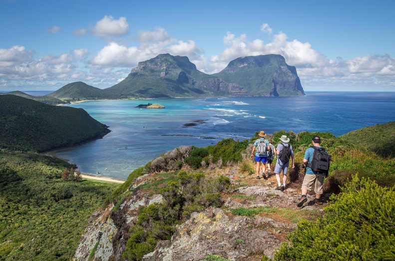 Lord Howe Island … Perfect for walkers.. and families too!