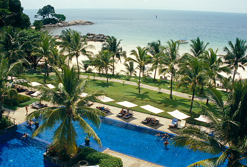 Bintan Island (just a short boat ride from Singapore) all inclusive Club Med Resort