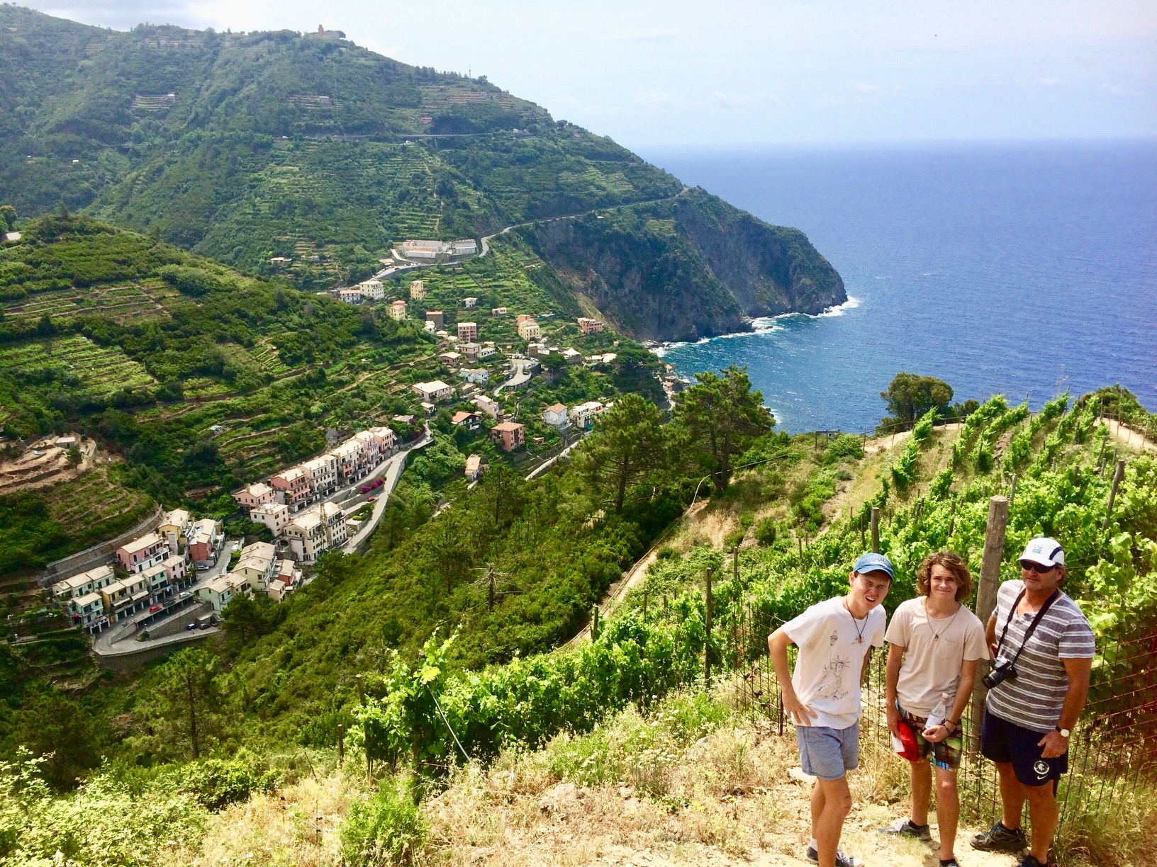 Cinque Terre Italy – Self guided 7 day family walking tour