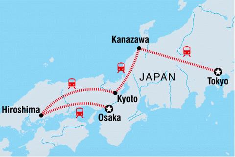 Join BYOkids travel guru Jacinta on a highlights of  Japan tour in 2021